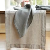 Williams-Sonoma Williams Sonoma Italian Washed Linen Table Runner