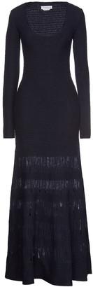 Gabriela Hearst Ivanov Open Knit-paneled Wool And Silk-blend Maxi Dress