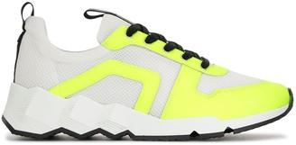 Pierre Hardy Trek Comet light sneakers