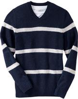 Old Navy Men's Striped Wool-Blend Sweaters