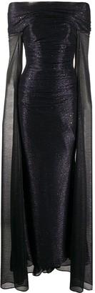 Talbot Runhof Bardot Gown