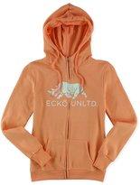 Ecko Unltd. Womens Worldwide Rhino Zip Up Hoodie Sweatshirt M