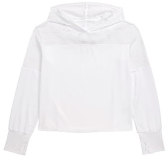 Zella Girls Mix it Up Hooded Tee