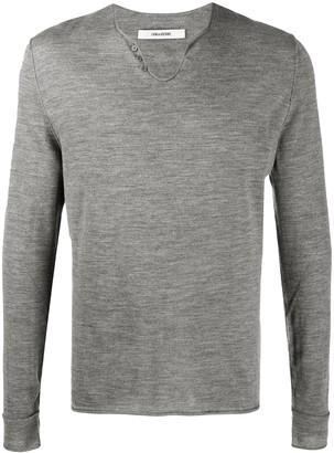 Zadig & Voltaire Flashlight long-sleeve jumper