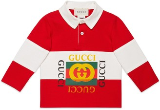 Gucci Baby polo with logo