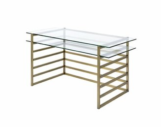Everly Melodi Glass Desk Quinn