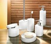 Kleine Wolke Sahara Elegant Stoneware Soap Dispenser (3.15 X 4.92, White)