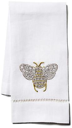 Hamburg House Bee Linen Guest Towel