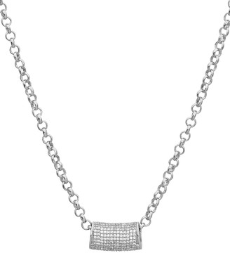 Dean Davidson Signature Pave Tube Necklace