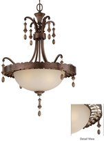 Minka Lavery 4123-563 Candlewood 3 Light Ceiling Pendant in Rustique Patina w...