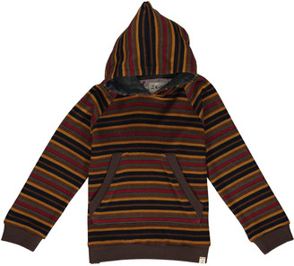 Me & Henry Boy's Striped Long-Sleeve Hooded Sweater, Size 6-24M