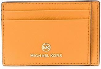 MICHAEL Michael Kors Calf Leather Cardholder With Multiple Slip Pockets