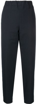Alessia Santi Cropped Tappered Trousers
