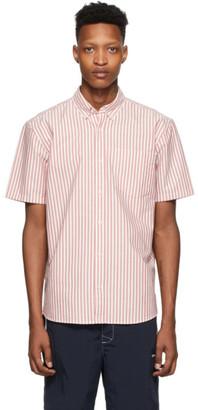 Carhartt Work In Progress Red and White Stripe Simon Shirt