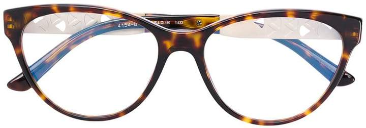 Bulgari cat eye glasses
