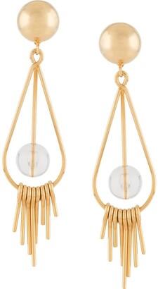 Marni Dangling Sphere Drop Earrings