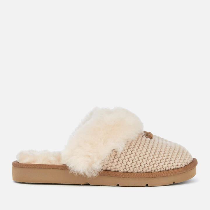 a79c431b7e2 Women's Cozy Knit Slippers - Cream