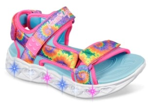 Skechers S Lights Heart Lights Light-Up Sandal - Kids'