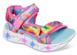 Skechers S Lights Heart Lights Light-Up Sandal - Kids'