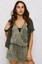 American Eagle Outfitters Don't Ask Why Wrap Front Romper