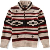 Pendleton Full-Zip Shawl Collar Cardigan