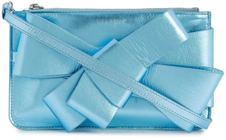 DELPOZO bow embellished mini bag