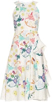 Peter Pilotto Japanese floral-print sleeveless dress