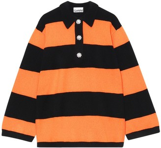 Ganni Embellished Cashmere Knit Sweater