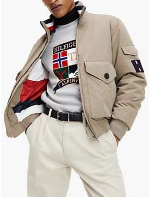 Tommy Hilfiger Icon Bomber Jacket, Stone