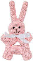 Estella Bunny Rattle With Handle - Pink