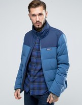 Patagonia Bivy Down Jacket In Blue