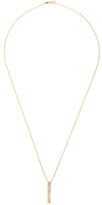 Maiyet 18K Yellow Gold & 0.30 Total Ct. Baguette Diamond Bar Pendant Necklace