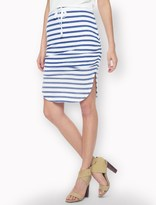 Splendid Sunfaded Stripe Jersey Skirt