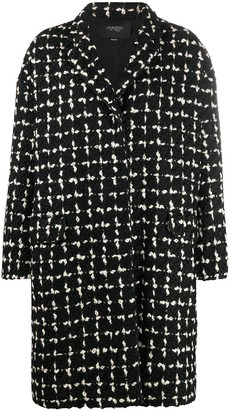 Giambattista Valli Check Weave Coat