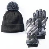 ZeroXposur Boys Ricky Glove & Beanie Set