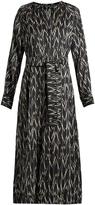 Isabel Marant Olympe ikat-print silk dress