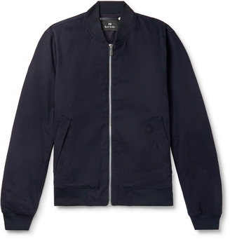 Paul Smith Cotton-Blend Twill Bomber Jacket