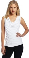 Rafaella Women's Cowl-Neck Tank Top