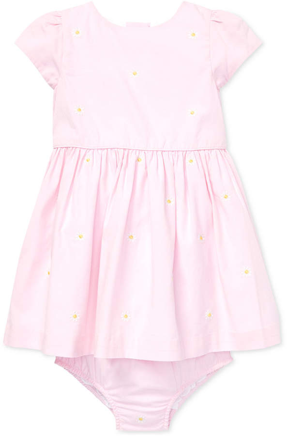 8f13f91e0 Kids Pink And White Fitted Dress - ShopStyle