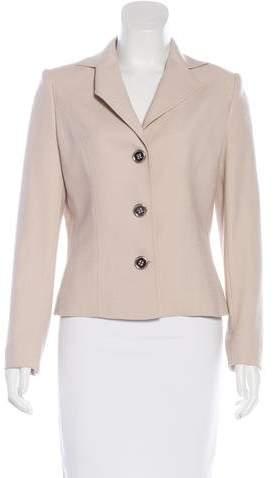 Dolce & Gabbana Button-Up Wool Jacket