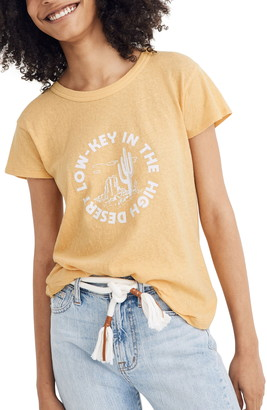 Madewell Low Key in the High Desert Perfect Graphic Tee