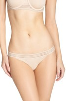 DKNY Women's Lace Trim Thong