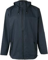 Rains hooded windbreaker jacket - men - Polyester/Polyurethane - M