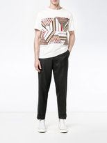 Missoni print and stitch T-shirt