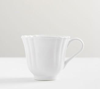 Pottery Barn Monique Lhuillier Juliana Scalloped Mug