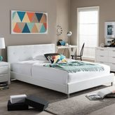 Baxton Studio Barbara Soft-tufted Upholstered Queen-size Bed