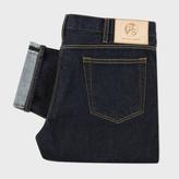 Paul Smith Men's Slim-Fit Red-Cast Indigo Jeans