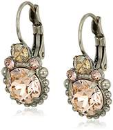 Sorrelli Satin Blush Solar Flare Drop Earrings