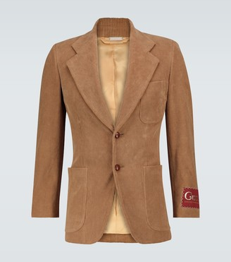 Gucci Exclusive to Mytheresa - single-breasted corduroy blazer