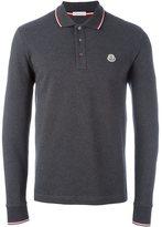 Moncler long sleeve polo shirt - men - Cotton - XXL